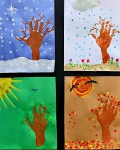 okul öncesi dört mevsim sanat etkinlikleri (3)