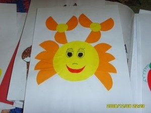 okul öncesi daire kağıtlardan yapılabilecek sanat etkinlikleri (10)