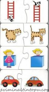 okul öncesi konum yön kavramı için kartlar (2)