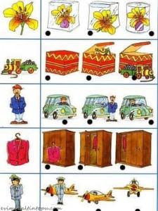 okul öncesi konum yön kavramı için kartlar (5)