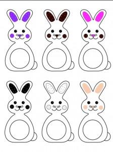 tavşan ve renkler