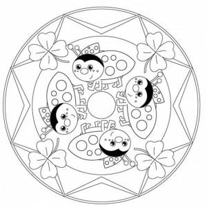 uğur böceği mandala çalışmaları (12)