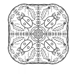 uğur böceği mandala çalışmaları (15)