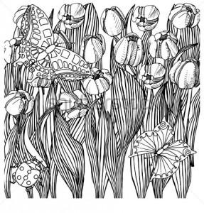 uğur böceği mandala çalışmaları (20)
