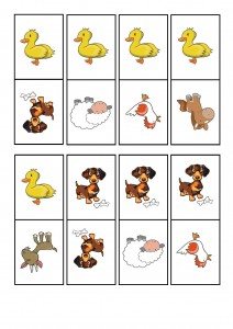 çiftlik hayvanları domino oyunu (2)