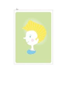 çocuklar için harika dikiş kartları