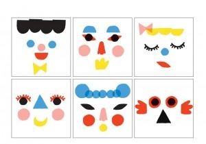 geometrik şekillerle sanat etkinlikleri (1)