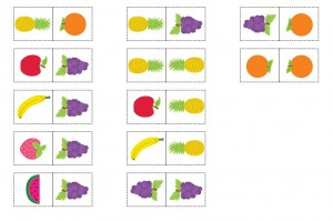 meyveler domino kartları (2)