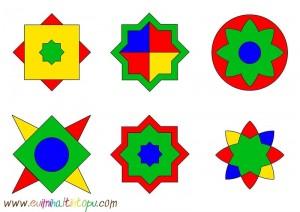 okul öncesi şekiller ile örüntü çalışmaları (3)