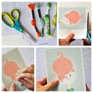 saçlar temalı dikiş kartları (1)