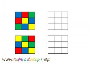 sticker ile örüntü çalışmaları (1)