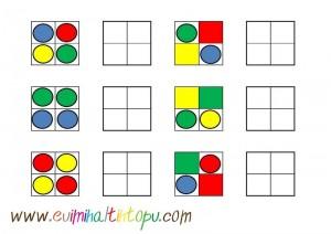 sticker ile örüntü çalışmaları (2)