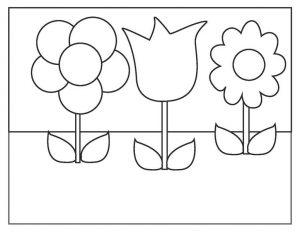 çiçekler oyun hamuru matı