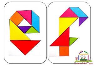 çocuklar için tangram okul öncesi herşey (3)