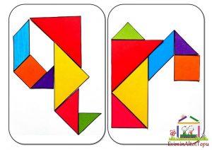 şekil yerleştirme etkinliği tangram (2)