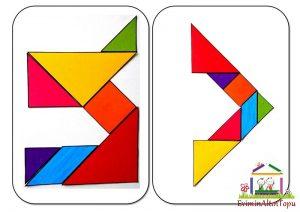 şekil yerleştirme etkinliği tangram (3)