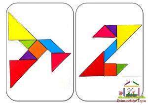 şekil yerleştirme etkinliği tangram (4)