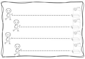 1. sınıf uyum dönemi çizgi çalışmaları (5)
