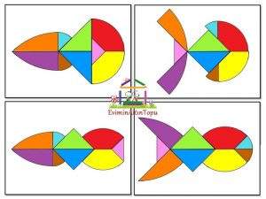 en farklı tangram şekilleri (2)