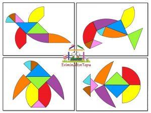 en farklı tangram şekilleri (3)