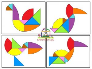 en farklı tangram şekilleri (5)