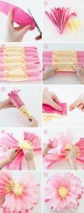 grafon kağıdından çiçek (kalıpları ve yapım aşamasıyla) (3)