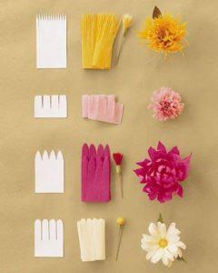 grapon kağıtlarından çiçek yapımı (4)