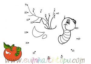 matematik sayıları birleştir boya etkinlikler (1)