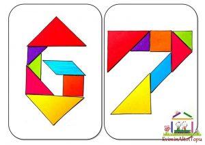 origami - tangram etkinlikleri için (4)