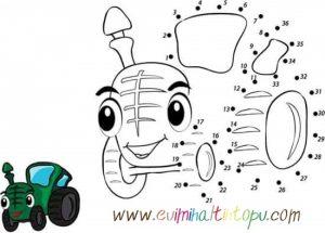 ritmik sayma boyama çalışması çocuklar için (1)