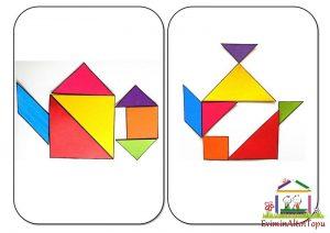 tangram ile simetri (1)
