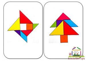 tangram ile simetri (2)