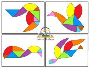 tangram -yapımı- şablonları ve daha fazlası (1)