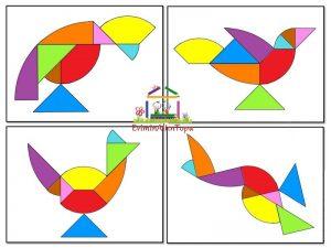 tangram -yapımı- şablonları ve daha fazlası (2)