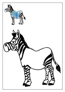 zebra oyun hamuru matı