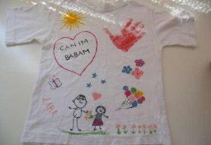 babalar günü tişört baskı