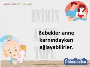 bebeğiniz için