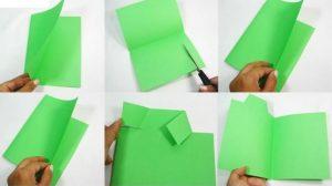 renkli kağıtlardan babalar günü hediye yapımı aşamaları ile (1)