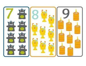 canavar sayı kartı