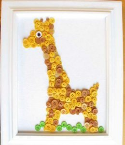 düğmeden zürafa
