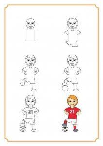 futbolcu-cizim