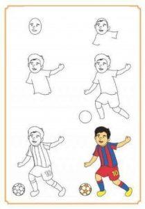 futbolcu-cizimi