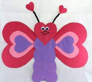 güzel kalpten kelebek