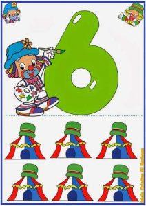 ilkokul güzel sayı kartları