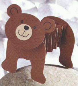 kartondan ayı yapımı