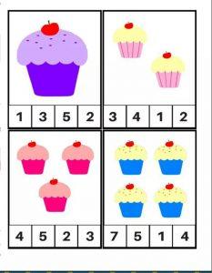 kek sayı kartları