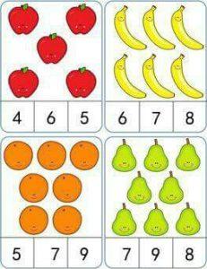 meyveler sayıkartı