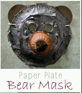 plastik tabaktan ayı yapımı