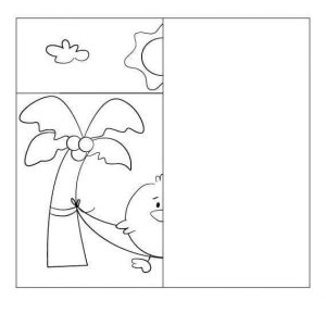 summer-drawing-symmetry-worksheets