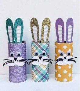 tuvalet kağıdı tavşan yapımı